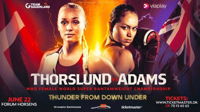 Struer Nyheder Dina Thorslund vs April Adams