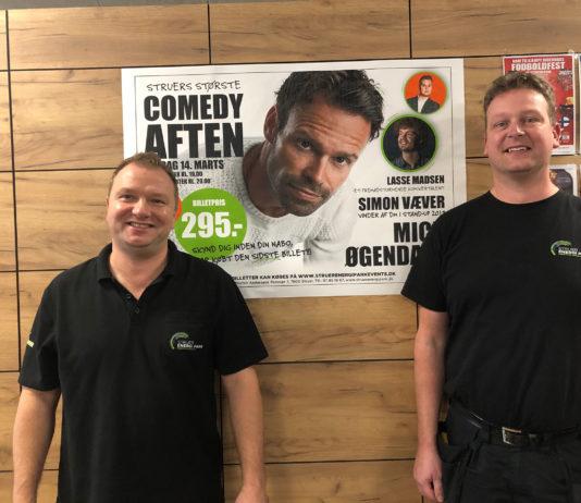 Struer Nyheder Struer Energi Park orten Bach Andersen og Peder Pedersen