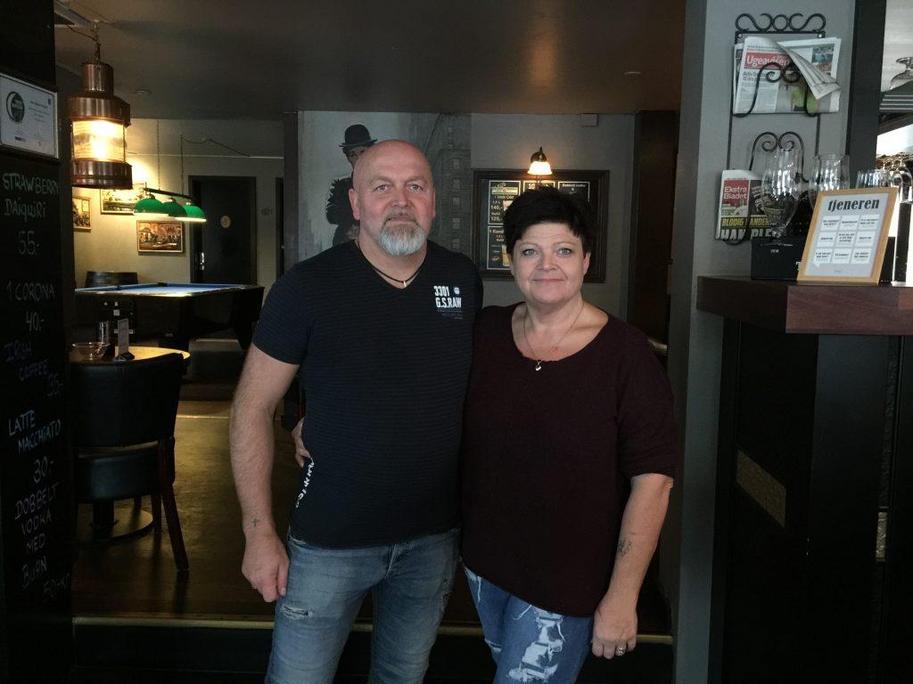 Struer Nyheder Helle Johansen Johnny Lorentsen Pingvinen Struer