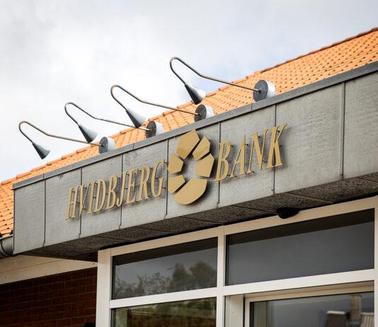 Struer Nyheder Hvidbjerg Bank facade i Hvidbjerg