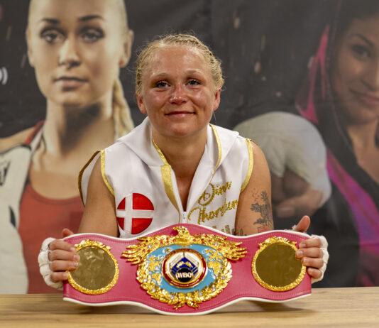 Struer Nyheder Dina Thorslund med bæltet
