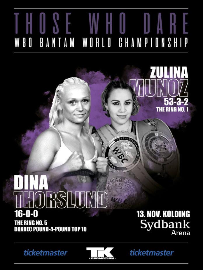 Struer Nyheder Dina Thorslund vs Zulina Munoz