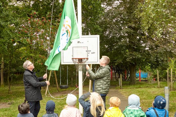 Struer Nyheder Det grønne spire flag hejses Struer Fribørnehave